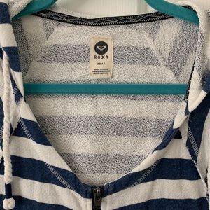 Roxy Jackets & Coats - Roxy Stripe Zip Up Hoodie